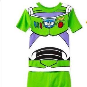 Buzz Lightyear shorts pajamas